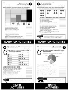 Data Analysis & Probability - Drill Sheets Gr. PK-2