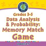 Data Analysis & Probability: Memory Match Game - MAC Gr. 3-5