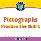 Data Analysis & Probability: Pictographs - Practice the Skill 1 - PC Gr. PK-2