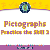 Data Analysis & Probability: Pictographs - Practice the Skill 3 - MAC Gr. PK-2