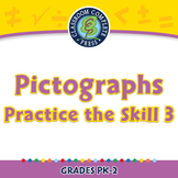 Data Analysis & Probability: Pictographs Practice the Skill 3 NOTEBOOK Gr. PK-2