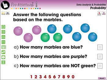 Data Analysis & Probability: Probability - NOTEBOOK Gr. PK-2