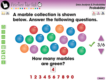 Data Analysis & Probability: Probability Practice the Skill 1 NOTEBOOK Gr. PK-2