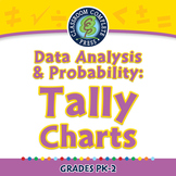 Data Analysis & Probability: Tally Charts - PC Gr. PK-2