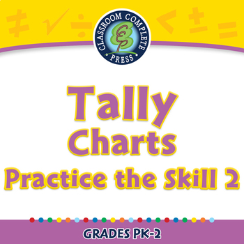 Data Analysis & Probability: Tally Charts - Practice the Skill 2 - PC Gr. PK-2