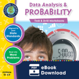 Data Analysis & Probability - Task & Drill Sheets Gr. 6-8
