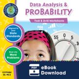 Data Analysis & Probability - Task & Drill Sheets Gr. PK-2