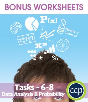 Data Analysis & Probability - Task Sheets Gr. 6-8 - BONUS WORKSHEETS