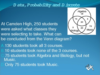 Data Analysis, Probability and Discrete Math BINGO