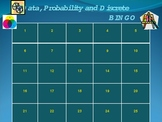 Data Analysis, Probability and Discrete Math BINGO