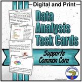 Data Analysis Task Cards Math Test Prep