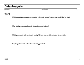 Data Analysis Tier II