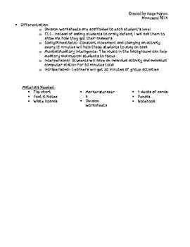 Data Analysis Unit- Guided Math Model