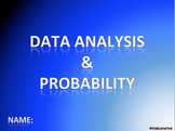 Data Analysis and Probability Digital Interactive Notebook