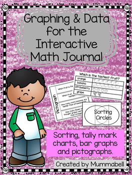 Graphing & Data for Math Interactive Notebooks