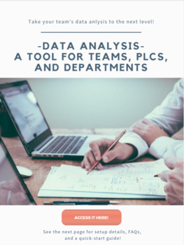 Data Analysis for Teams, PLCs, and Departments