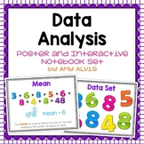 Data Analysis Posters and Graphic Organizer INB Set