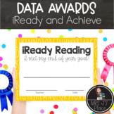 Data Awards: iReady and Achieve