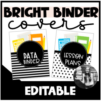 Data Binder Cover (Editable)