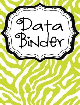 Data Binder Cover Freebie!