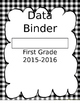 Data Binder Cover Pages