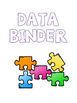 Data Binder Covers - Puzzle Pieces from Autism Classroom
