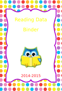 Data Binder Covers - Math, Reading and Writing