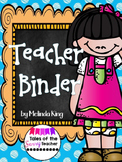 Teacher Binder and Forms