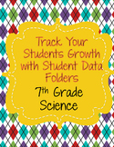 Data Binder/Folder Handouts for 7th Grade Science