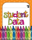 Data Binder Graphs - Second Grade (with Investigations Math)
