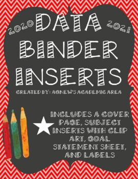 Data Binder Inserts: 2018-2019