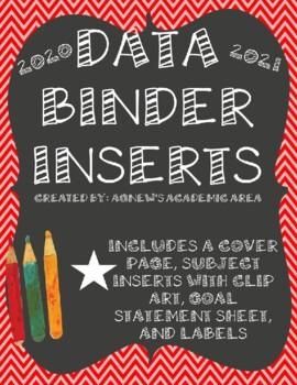 Data Binder Inserts: 2016-2017
