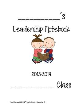 Data Binder/ Leadership Binder