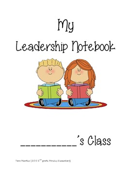 Data Binder/ Leadership Binder