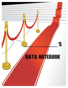 Data Binder (Math, SS, Science) Hollywood Theme Front cover