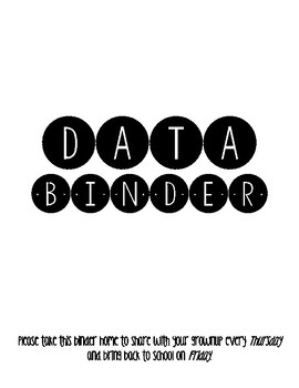 Data Binder: Student Driven Learning