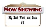 Data Binder & Student Work Binder Labels - Hollywood Theme