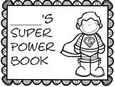 Data Binder Super Hero Theme