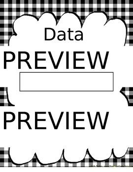 Data Binder and Progress Monitoring Resource