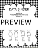 Data Binder and Progress Monitoring Resource