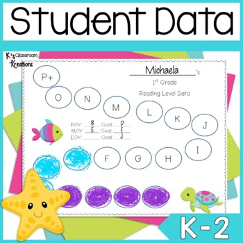 Data Binders- Under the Sea Ocean Theme
