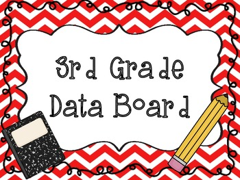 Data Board Labels ~ Grades K - 5 ~ Reading and Math
