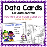 Data Cards to use with Graphing and Data Analysis