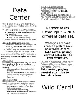Data Center Labels -New Orleans Study (or other state/country)