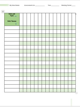 Data Charts Made Simple - Template