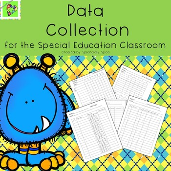 Data Collection Binder for Special Education