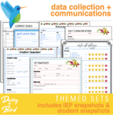IEP Goal Data Collection + Communications -- Themed Sets