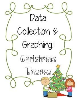 Data Collection & Graphing: Christmas Theme