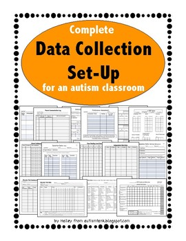 Data Collection Set-Up for an Autism Classroom