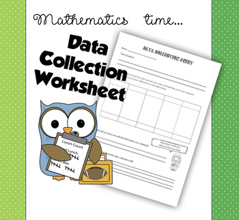 Data Collection Sheet